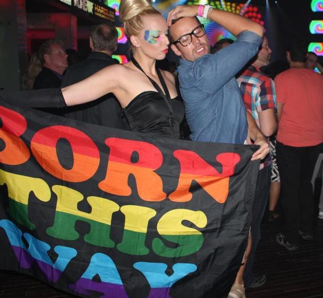 Lady Gaga Born This Way Ashley & Mr.Fab blogger