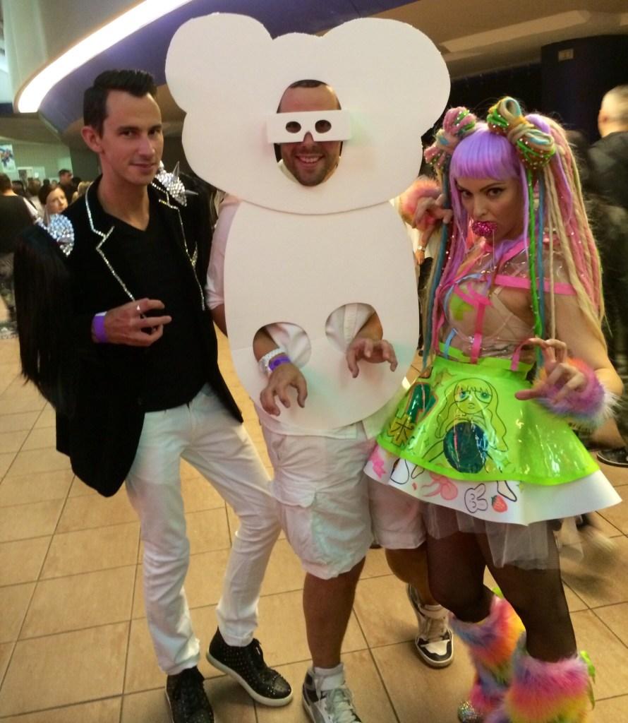 Lady Gaga artRAVE Edmonton Ashley Mr Fab Rob