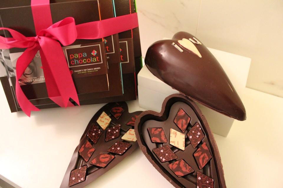 Papa Chocolat Valentines Day truffles
