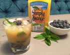 Blueberry Mint Simply Orange Mimosa w Product