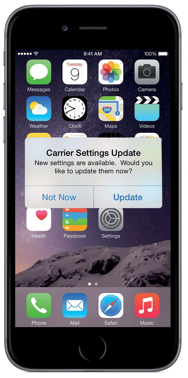 Ios 10 To How To Update Carrier Settings On Iphone Ipad In Ios 10