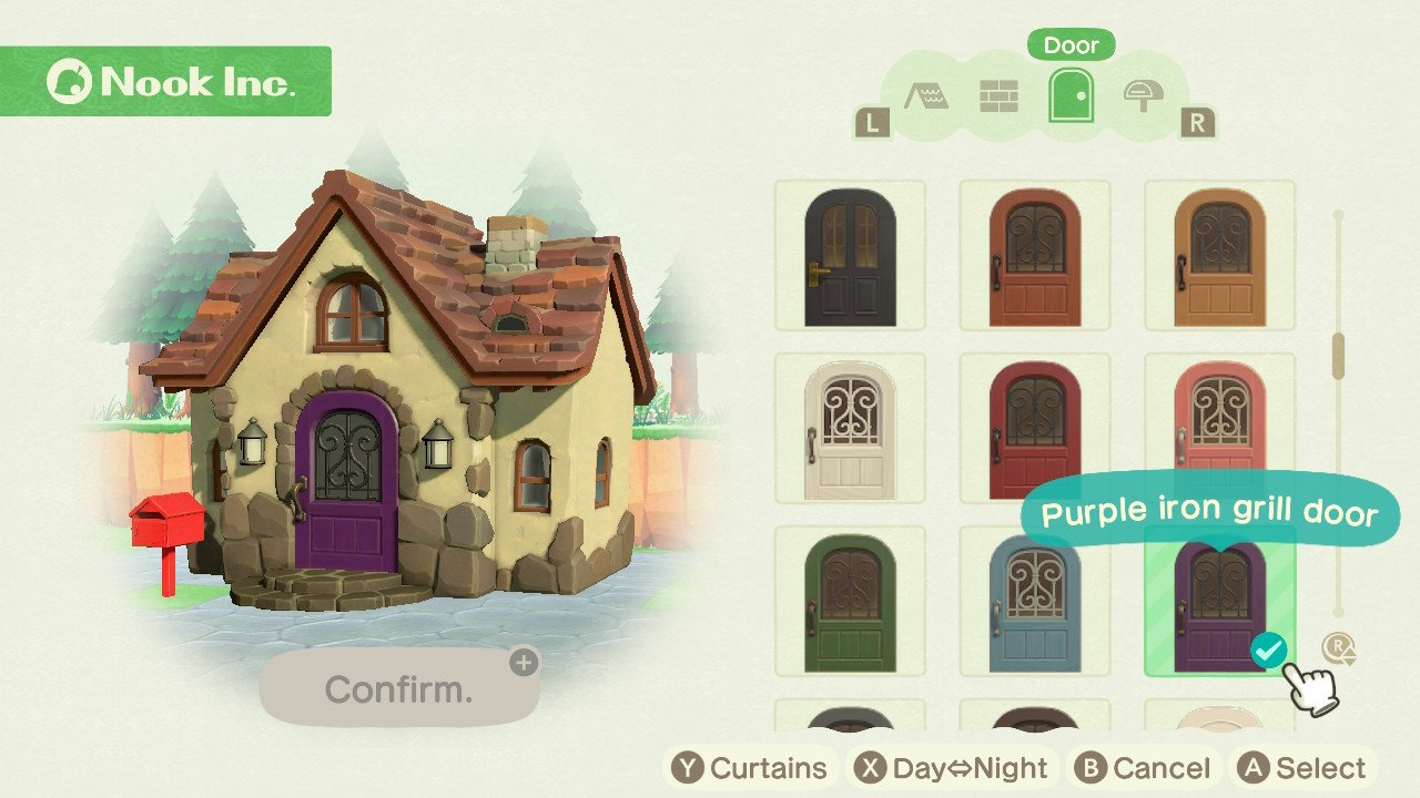 Animal Crossing New Horizons How To Customize The Exterior Of Your House Imore