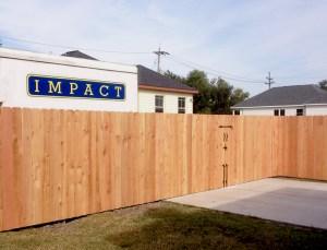 Custom Wood Fence Contractor