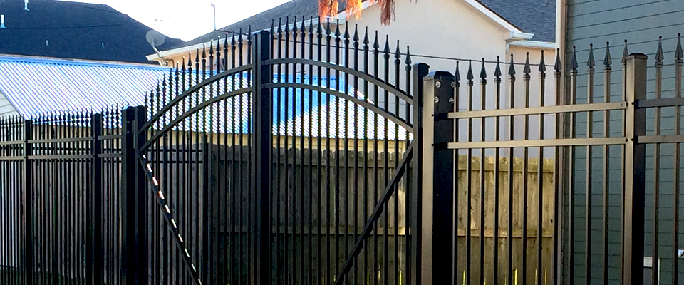 Wrought Iron Fence Gate