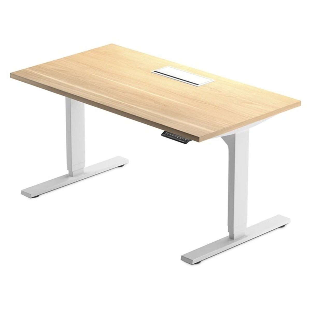 Electric Sit Stand Tables Desks Impact Office Furnishings Vancouver