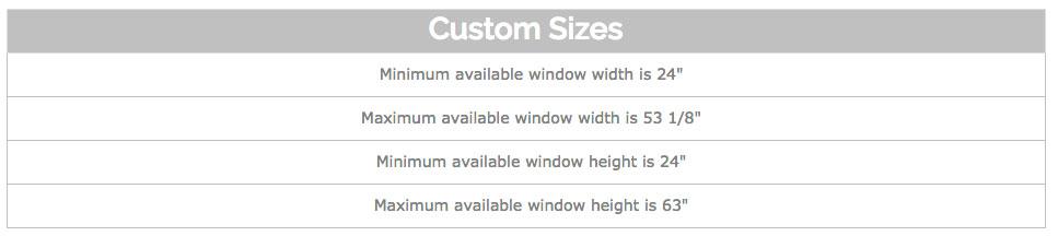 Eco-Guard Series 200 - Horizontal Rolling - Impact Window Center - horizontal writing paper