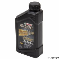 CASTROL EDGE 0W-40 FULL SYNTHETIC OIL 1QT. BOTTLE