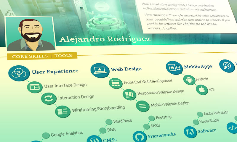 Web Designers How to Make a Great Resume Impatient Designer - how to make my resume resume