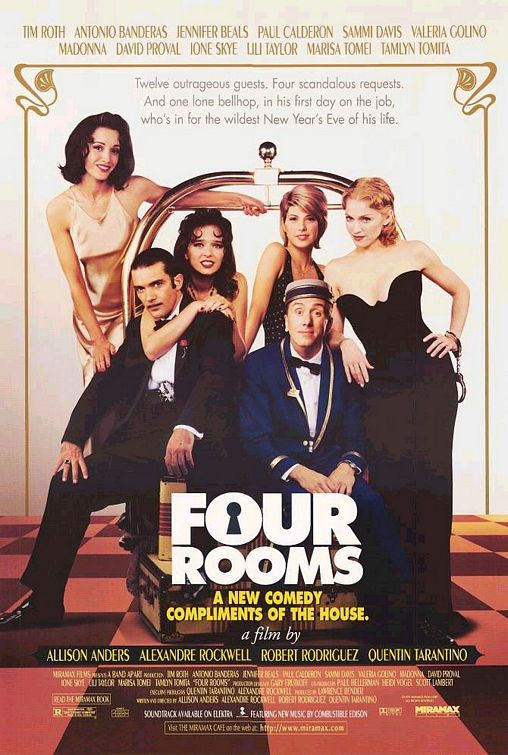 4 Rooms Four Rooms Movie Poster (#2 Of 2) - Imp Awards