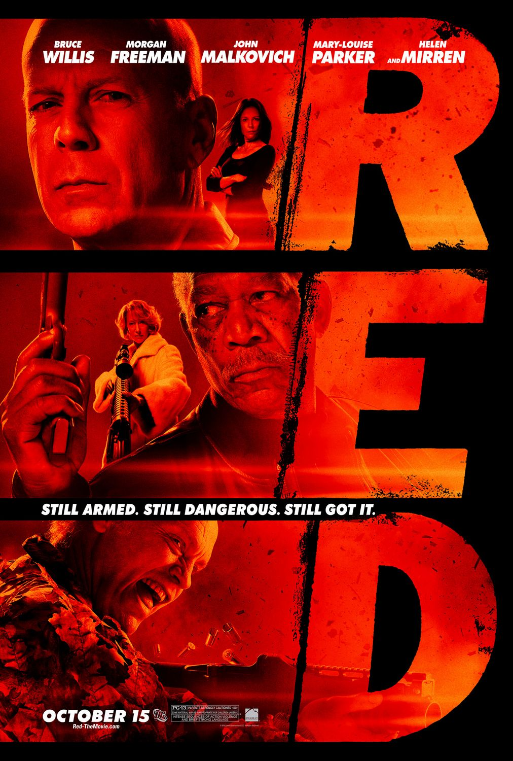 Poster Red Red 7 Of 10 Extra Large Movie Poster Image Imp Awards