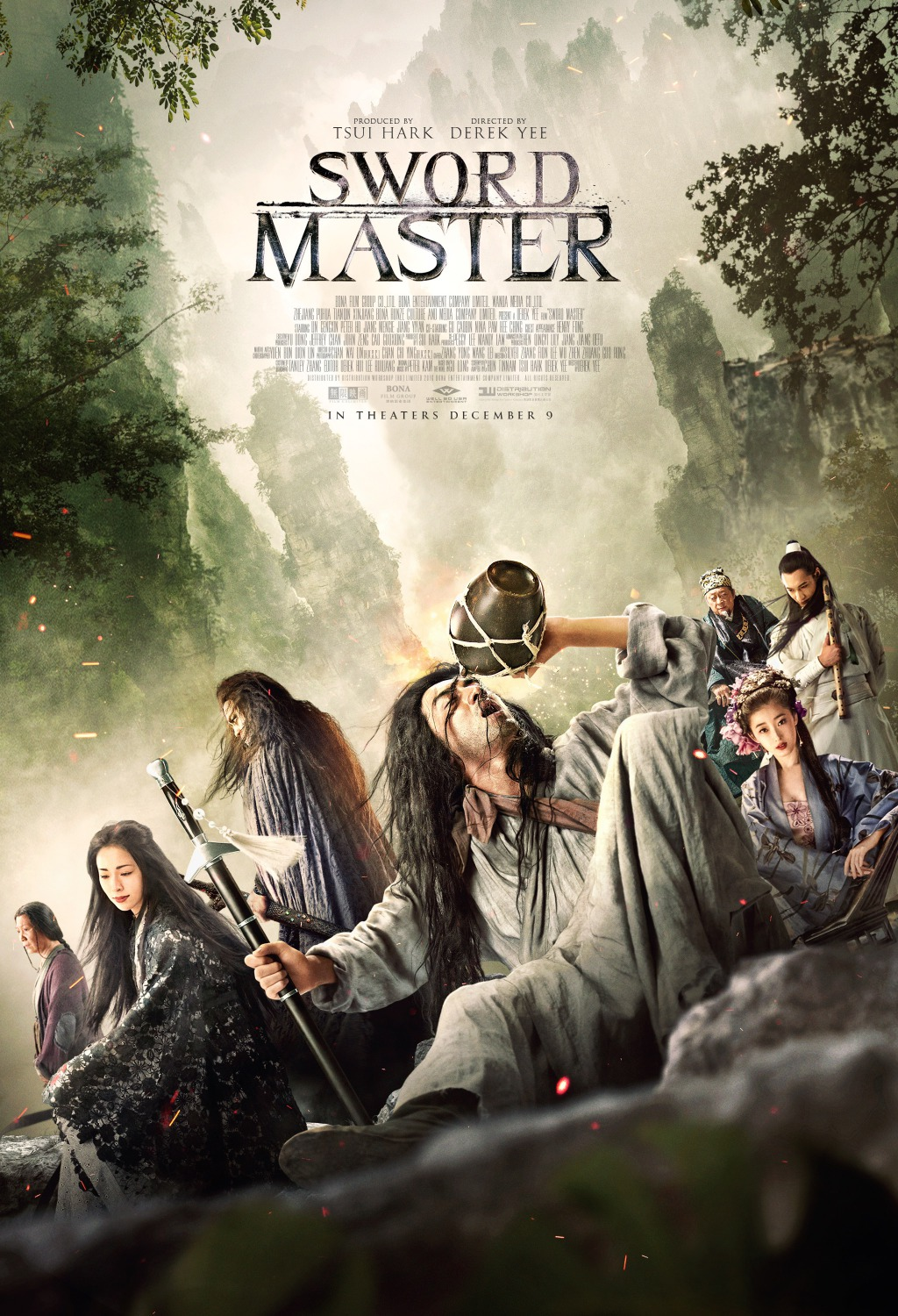 Master 2016 Sword Master Aka San Shao Ye De Jian Movie Poster 4 Of 11
