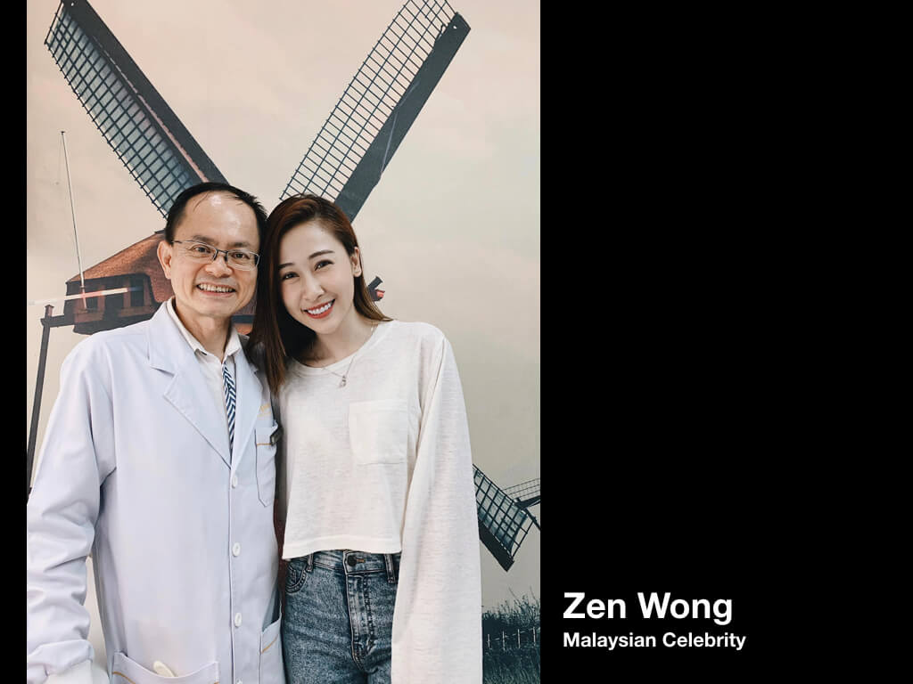 zen wong malaysian celebrity - Imperial Dental Specialist Centre