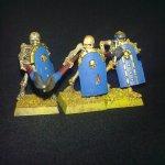 Warhammer Quest - Undead - Skeleton Spearmen