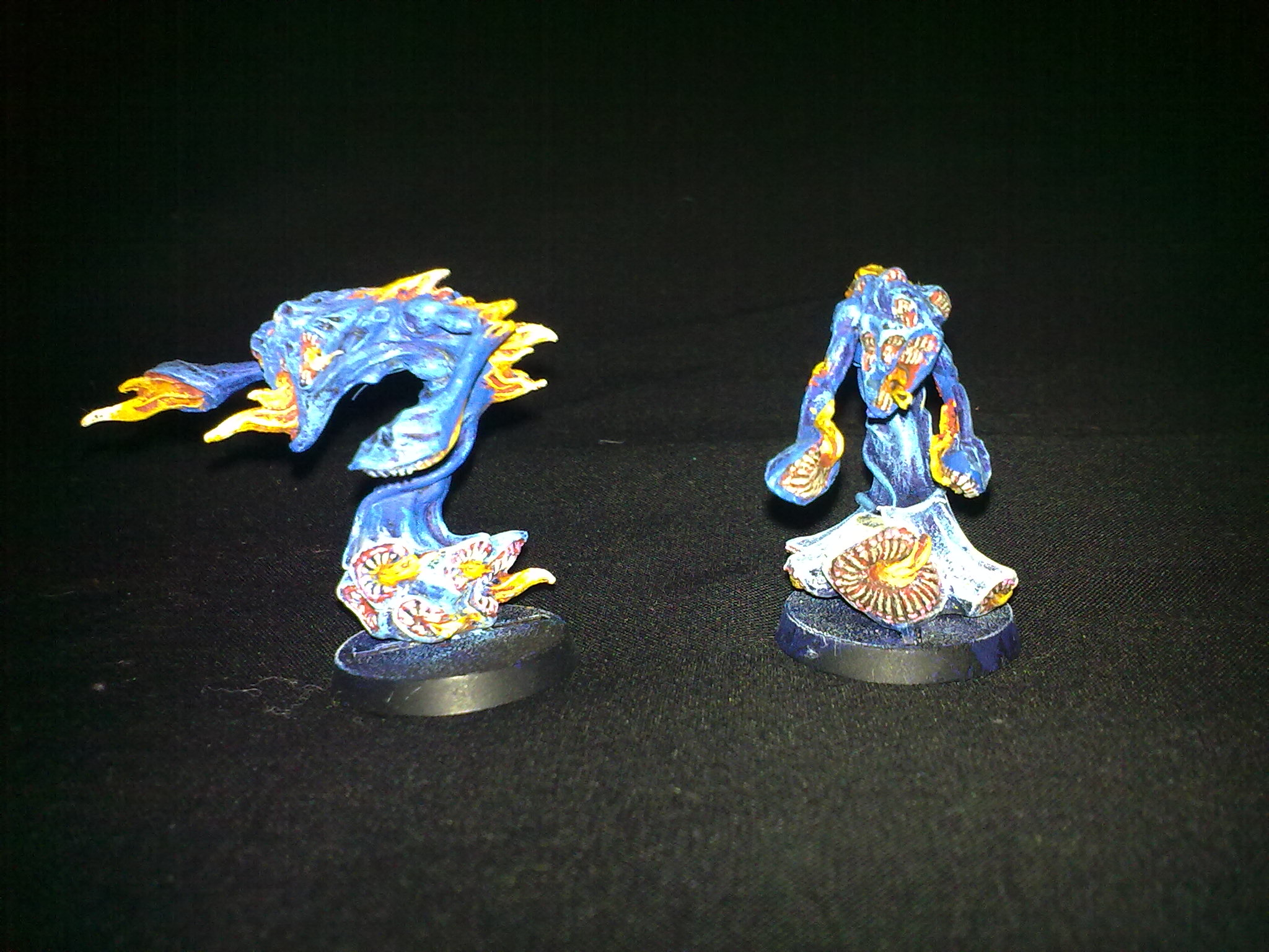 Flamers of Tzeench, painted by Questing Knight
