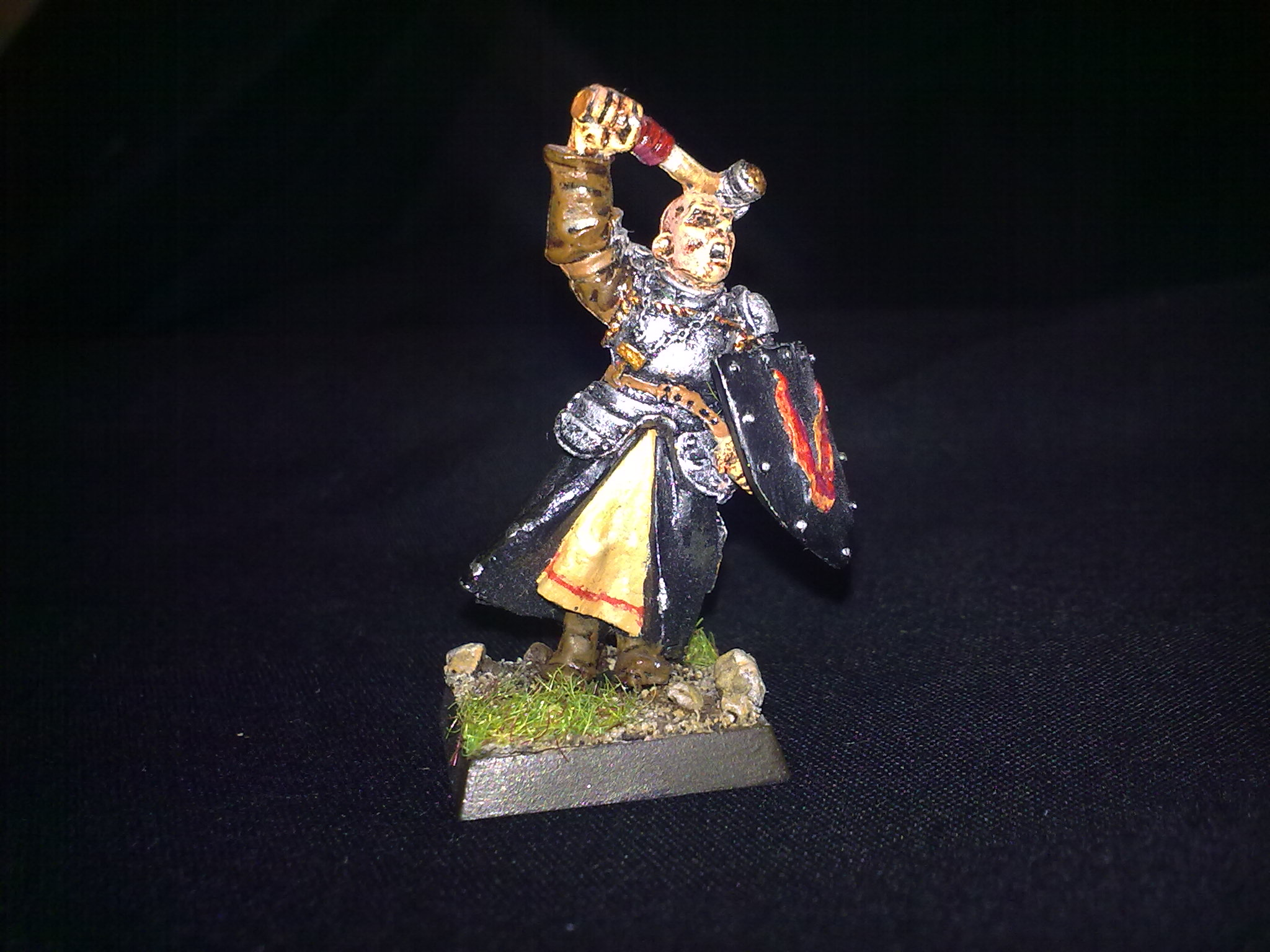 Warrior Priest, painted by Questing Knight