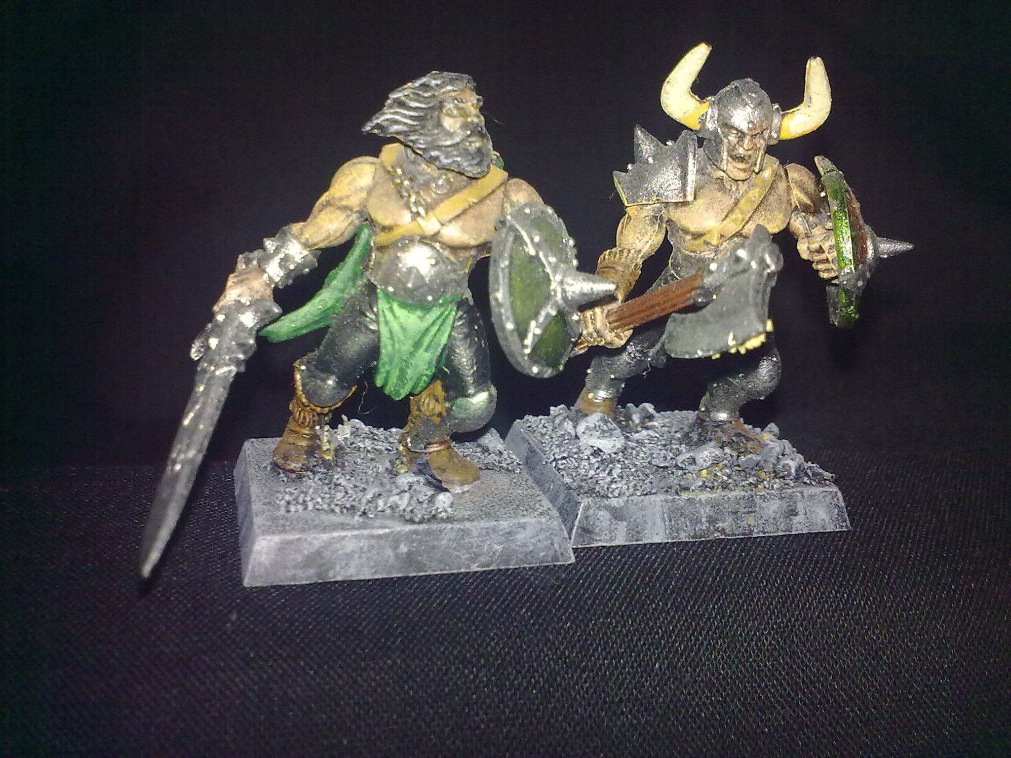 Norse Marauders, painted by Questing Knight