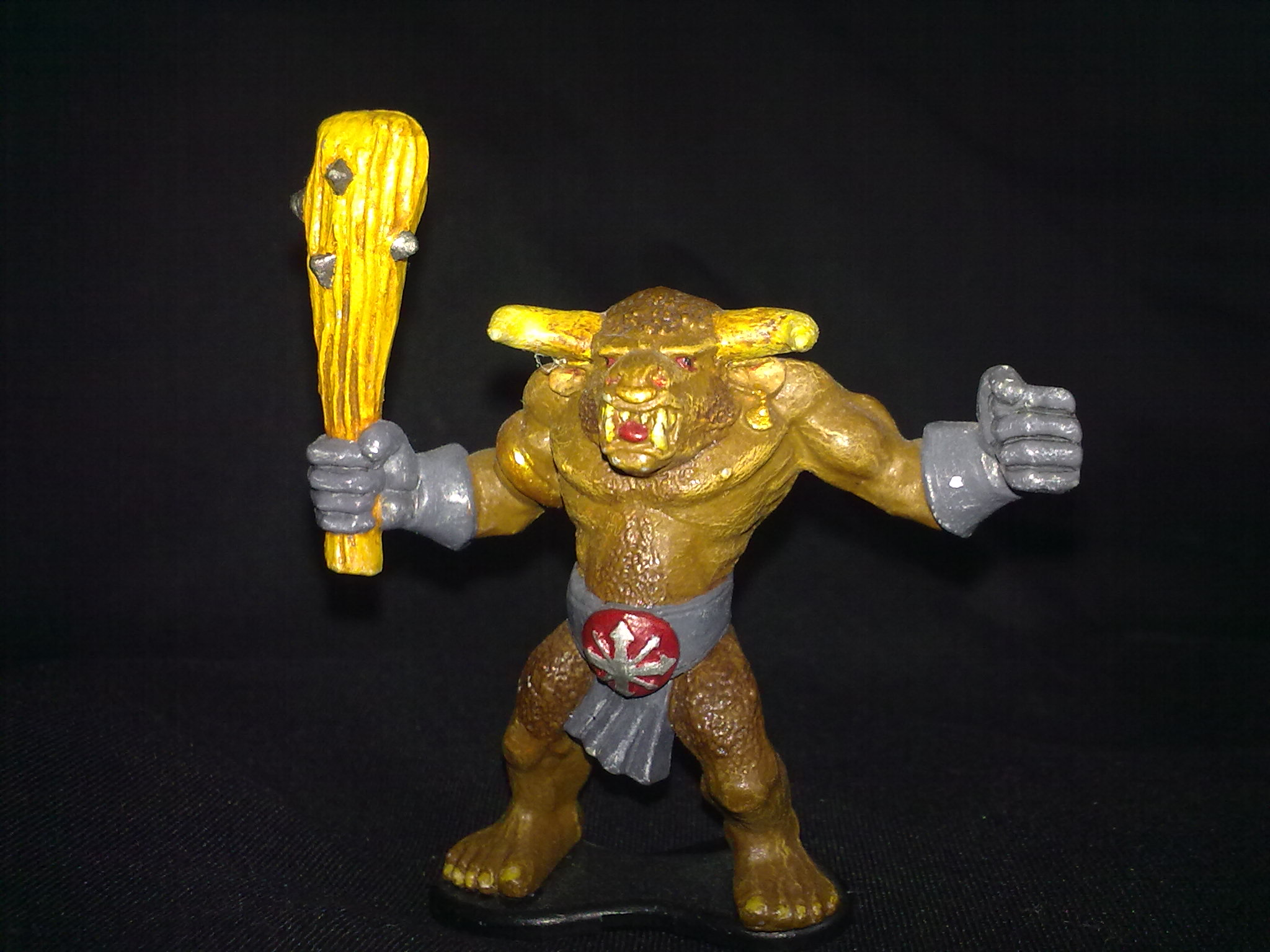 Minotaur, painted by Lumpin' Croop