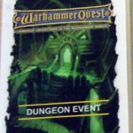 Warhammer Quest Dungeon Event Cards