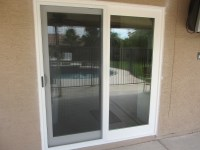 White French Rail Door with Sliding Screen Door ...