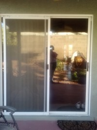 Before- Old Sliding Glass Door - Replacement Windows ...