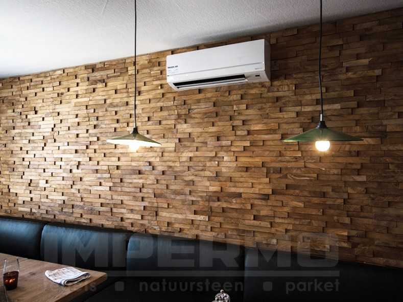 Gratis Catalogus Interieur Recycled Teak Wood - Houtstrips | Impermo