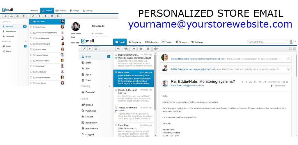 Store Personalized Email - Grocery Store Services Grocery Store - personalized e mail