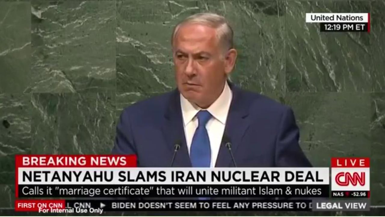 BREAKING: Bibi Shuts the Fuck Up at the UN for 45 Seconds