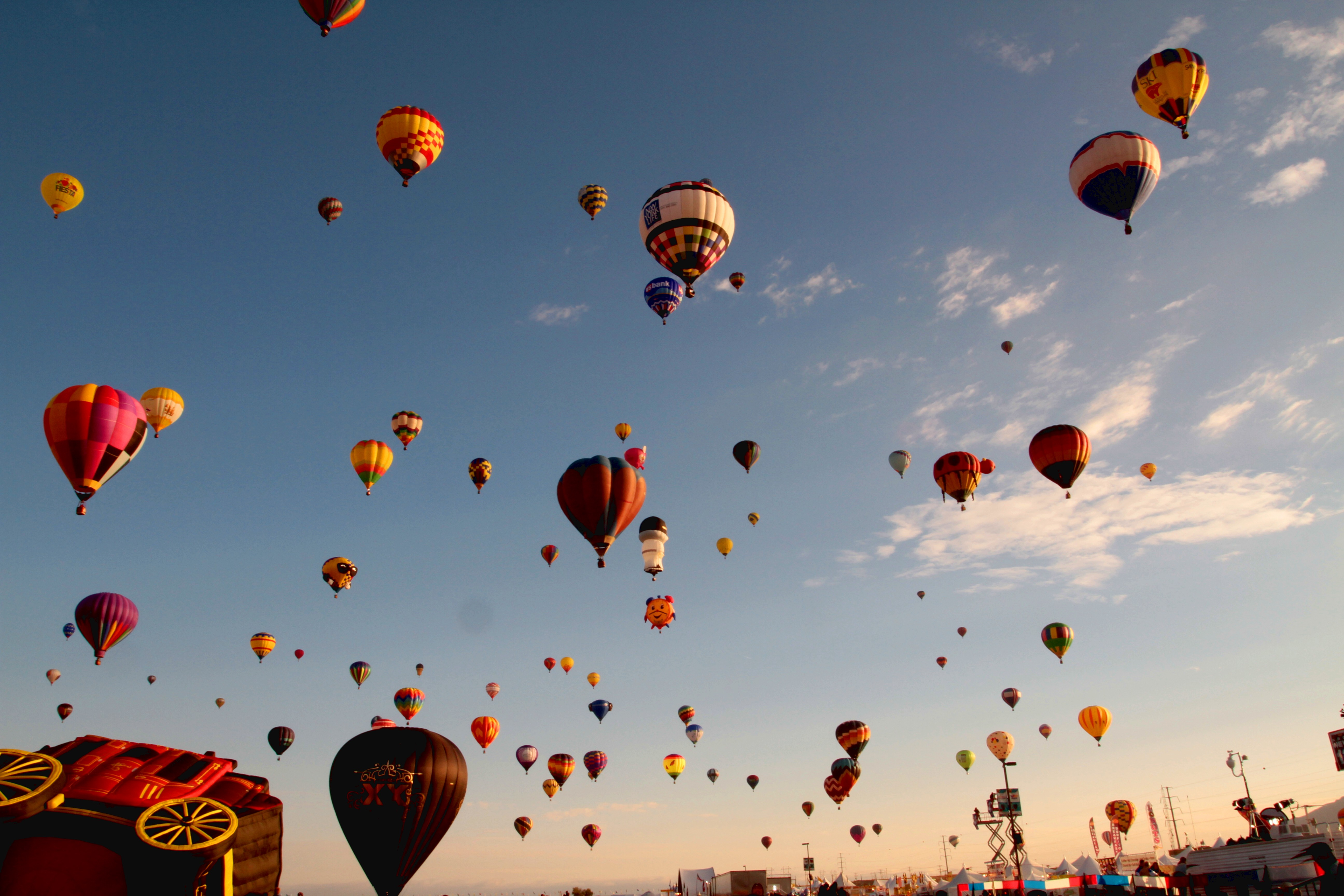 How To Make 3d Wallpaper Lots Of Balloons In The Sky Implicit Self