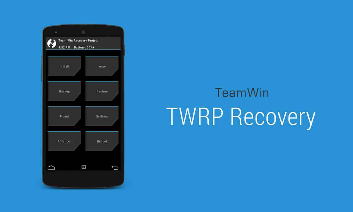 How to change TWRP to English