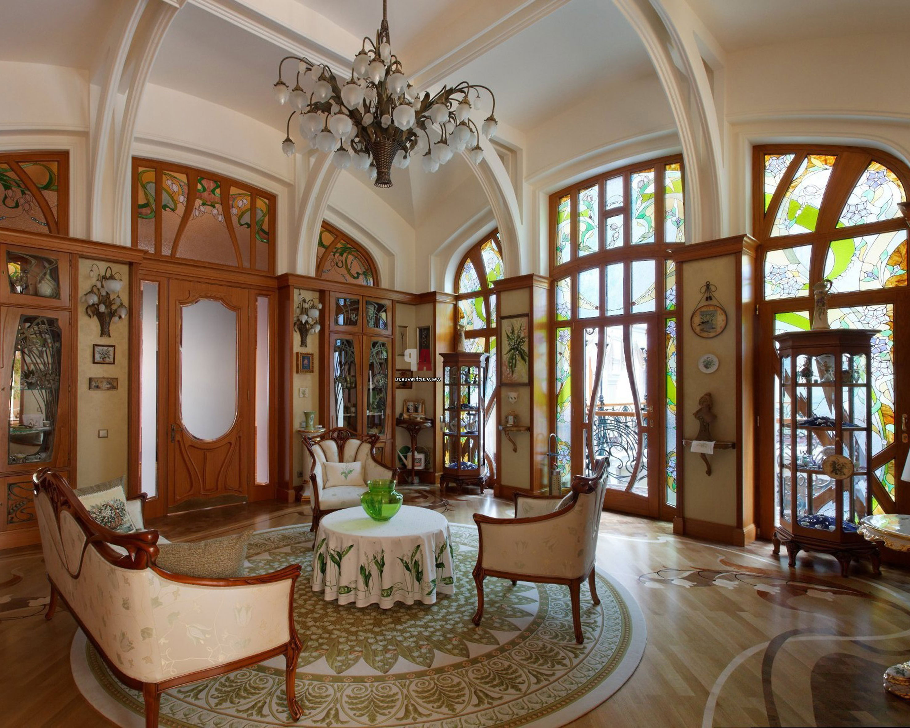 Décoration Art Nouveau Art Nouveau Interior Design With Its Style Decor And Colors