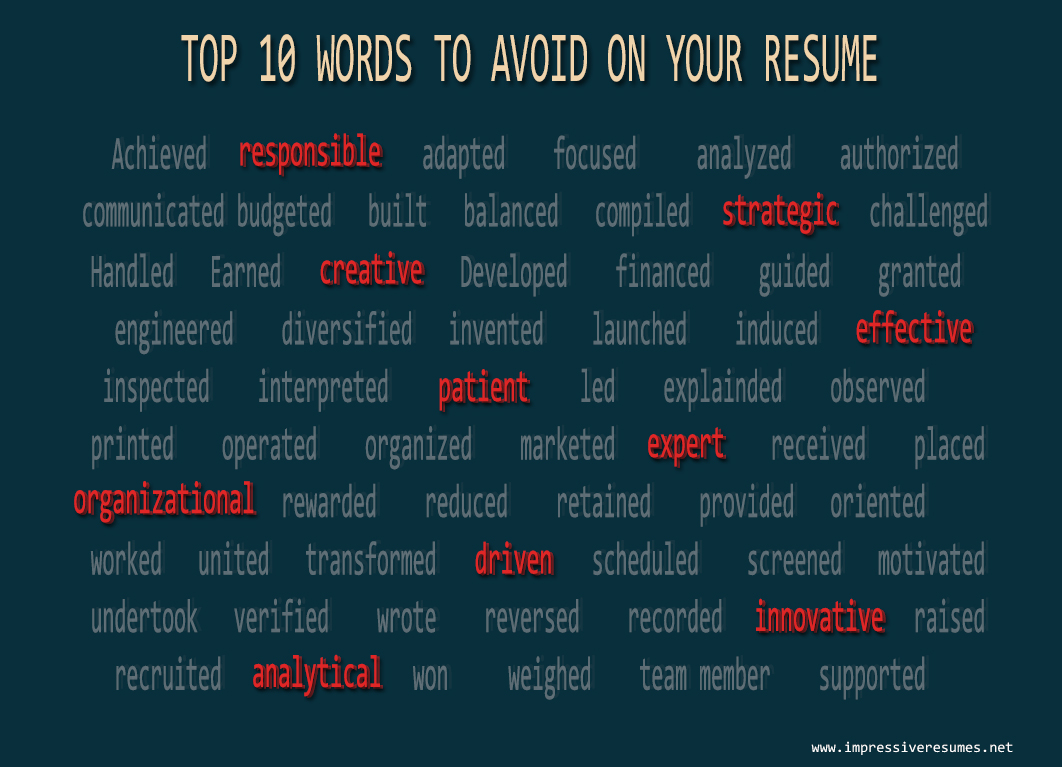 Action Verbs For Resume Writing Resume Help Resume Examples ResumeToolBox  Com Top Action Verbs For Resumes  Best Words To Use In Resume
