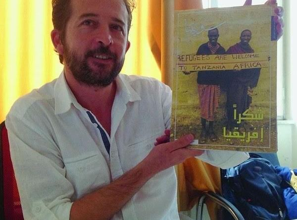 Jawad Muna, rédacteur en chef de Souriatna