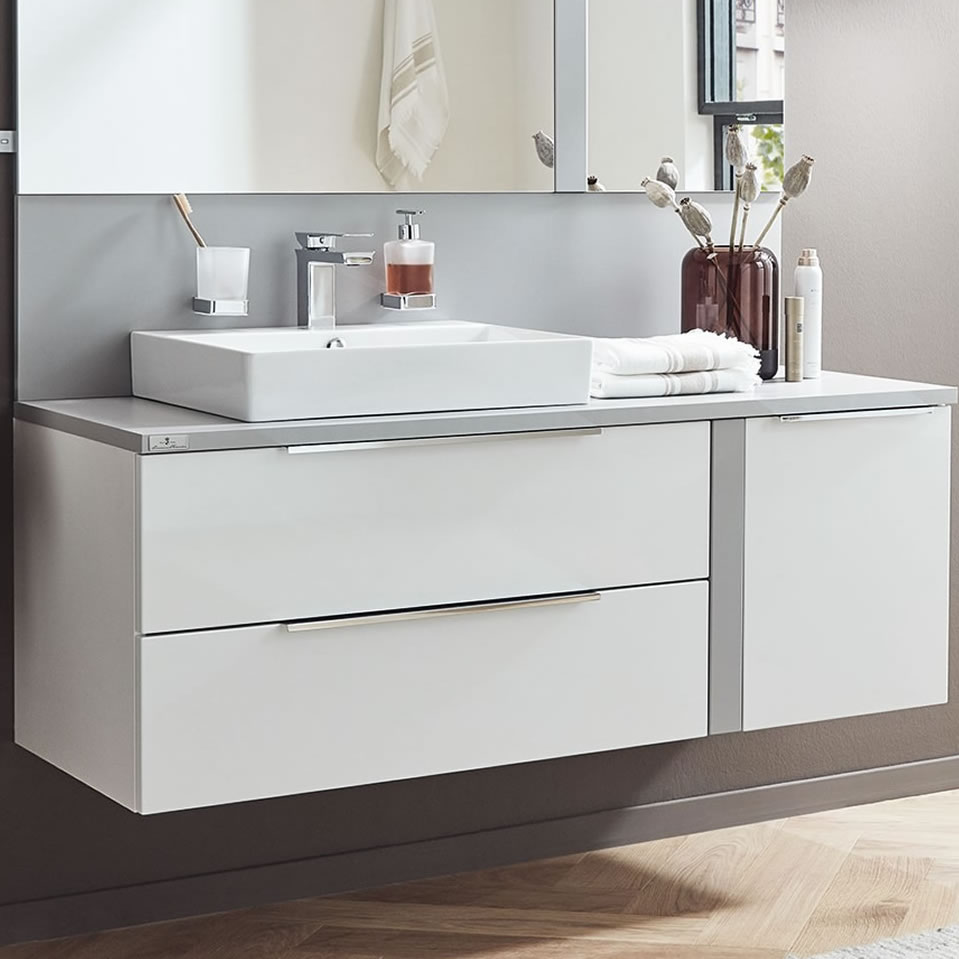 Puris Royal Bath Modern Life Badmöbel Als Waschtisch Set 136 Cm Impuls Home