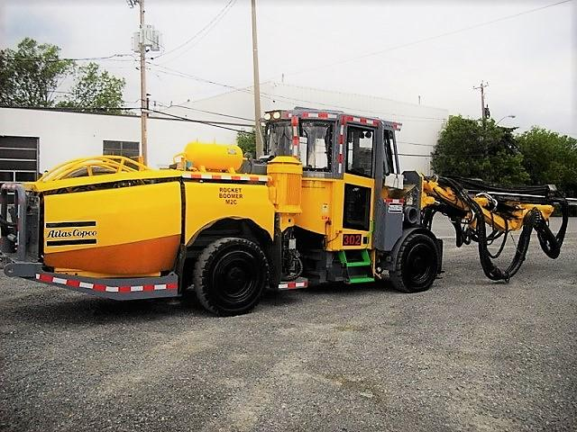 2007 Atlas Copco M2C - 2 Boom (Used) for Sale in Canada - EquipmentMine