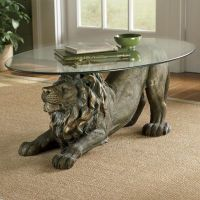 Crouching Lion Table from Seventh Avenue   DI705262
