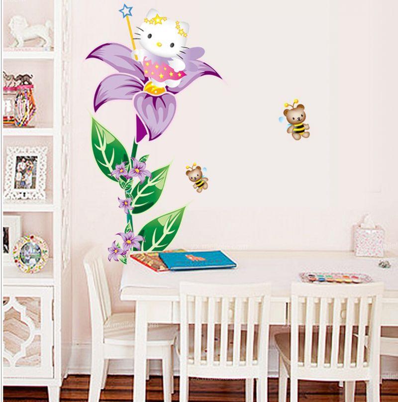 Hello Kitty Wall Decor Stickers