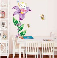 Hello Kitty Wall Decor Stickers - [peenmedia.com]
