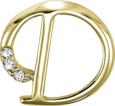 Buy Kiara \u0027d\u0027 Alphabet Design American Diamond Pendant Online Best