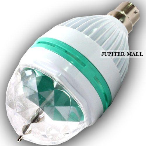 Buy Disco Dj Laser Lighting Crystal Magic Ball Light Rotation Stage
