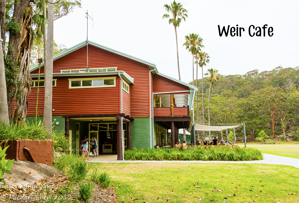 Weir Cafe Cover