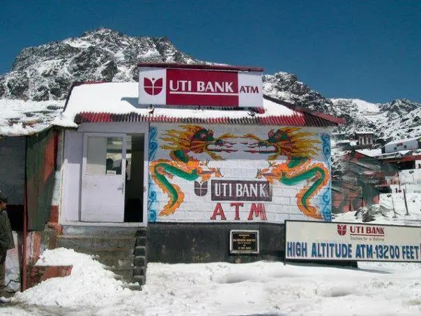 World's highest ATM - A road trip from Gangtok to Nathula at an altitude of 14,400 feet