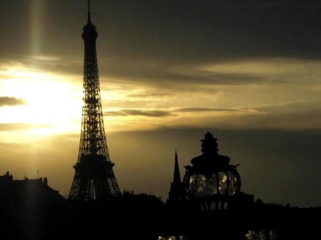 Eiffel Tower Seine
