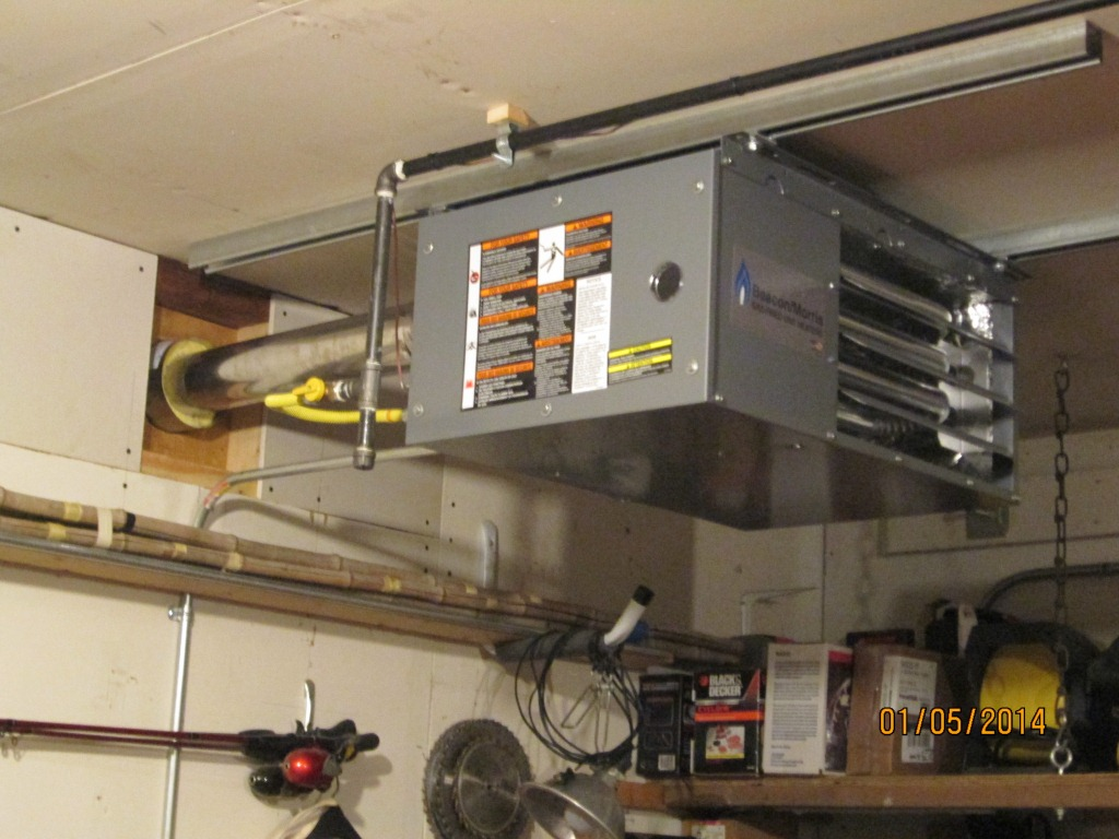 Garage Heater Cost To Run Garage Heating Electric Vs Propane General Discussion Forum