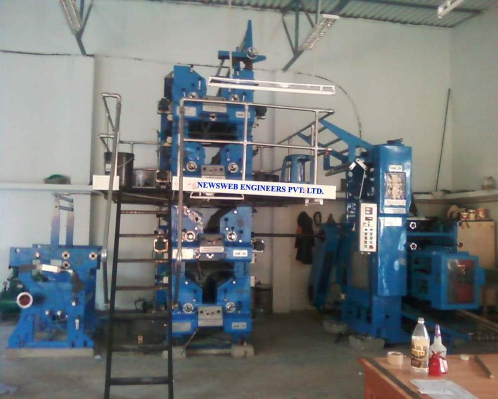 Web Offset Printing Machine 4 Hi Tower Web Offset Printing Machine Semi Automatic Newsweb
