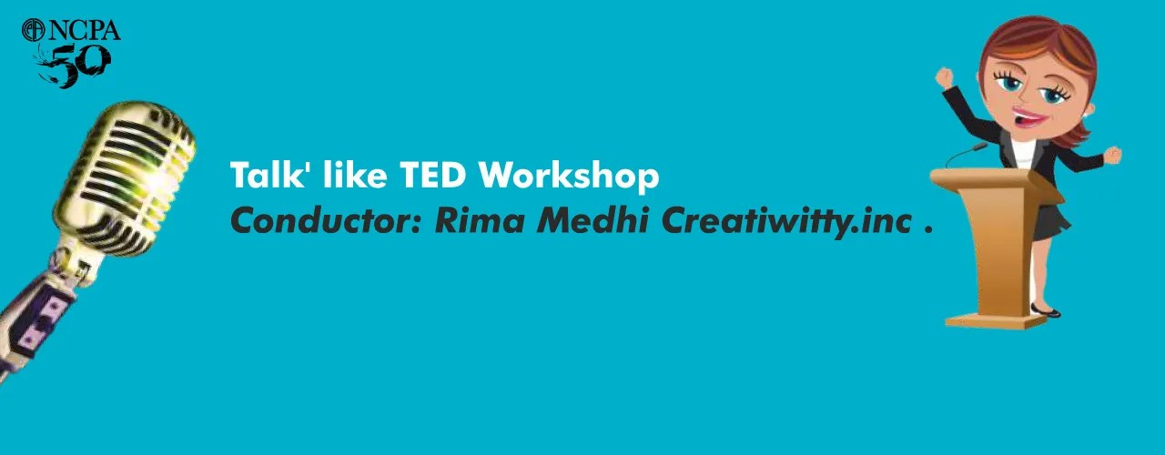 Talk` like TED Workshop workshops Event Tickets Mumbai