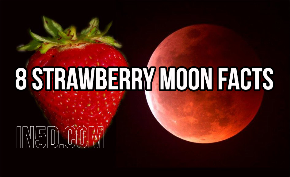 Moon Images 2015 8 Strawberry Moon Facts In5d