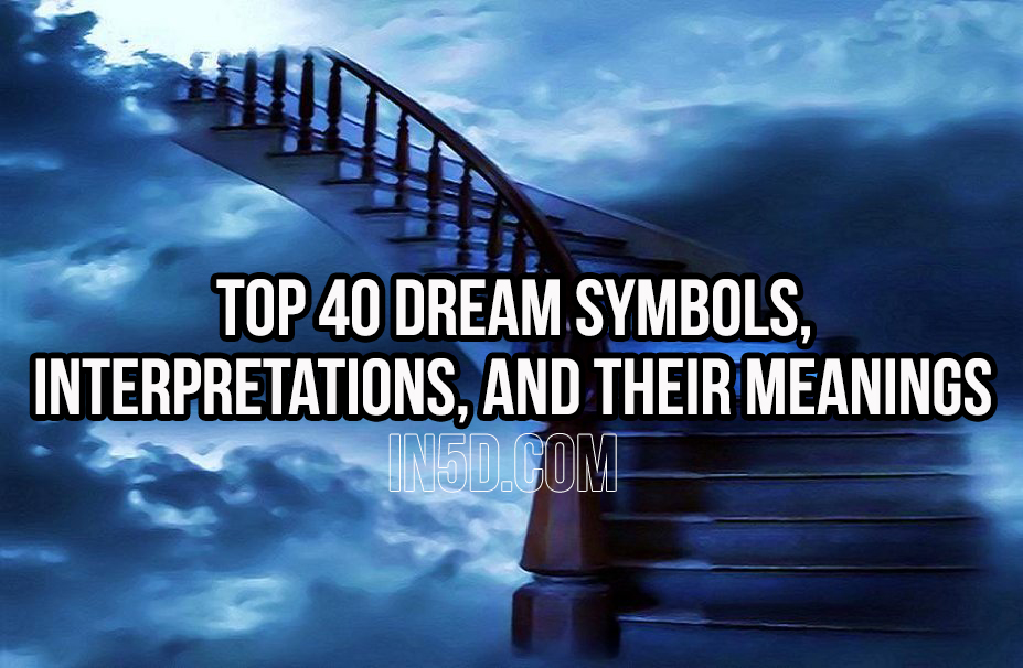 dream symbols and their meanings pdf