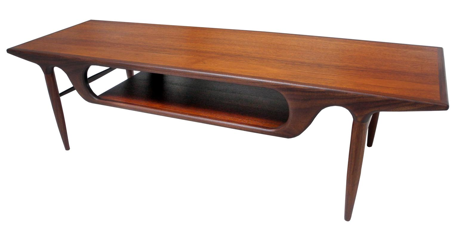 Sculptural Coffee Tables Danish Teak Coffee Table Inabstracto
