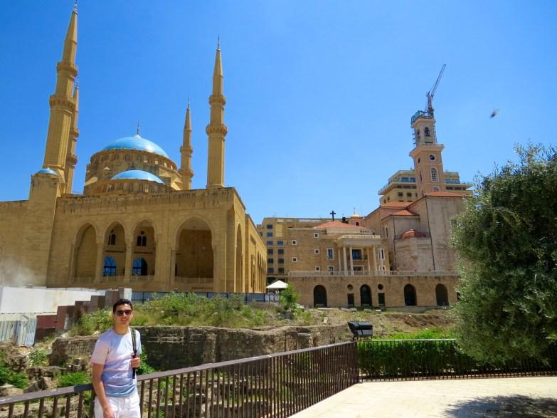 beirut mosque church