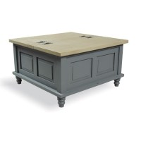 Inadam Furniture - Square Coffee Table Storage Trunk ...